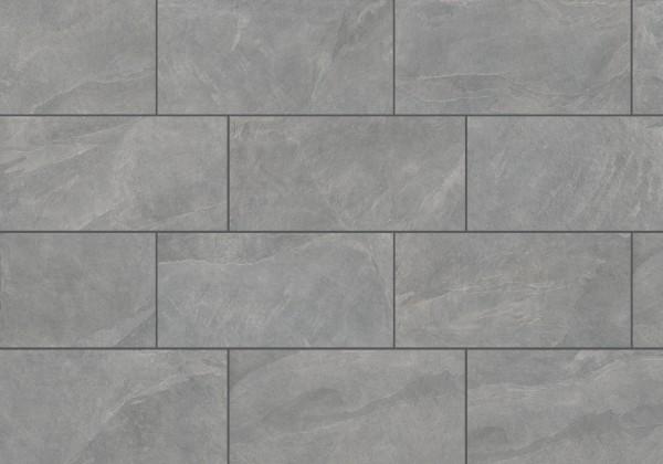 Keramische Terrassenplatte/fliese Schiefer Grau 45x90x2cm