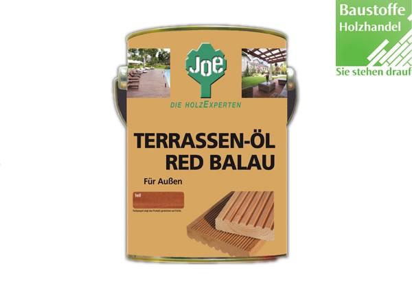 JOE Bangkiraiöl Red Balau in Dunkel und Hell 2,5Liter