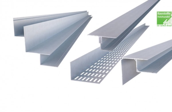 UPM ProFi Facade Eck- Kanten- und Lüftungsprofile aus Aluminium