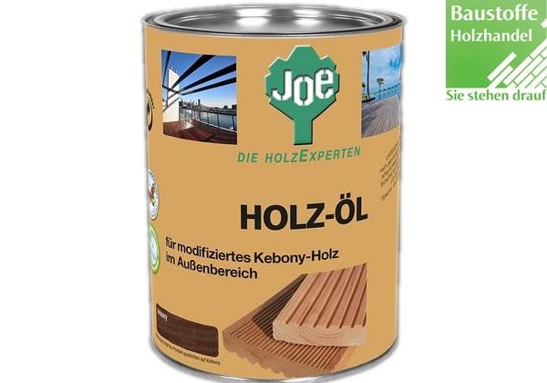 JOE Holzöl für Kebony 2,5Liter
