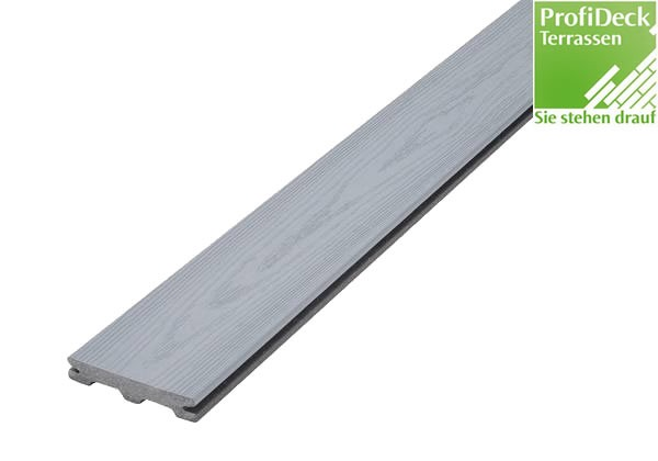 UPM ProFi Piazza S1 25x140mm in Silver Ash