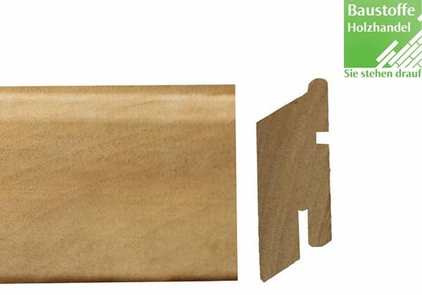 Ipe Rhombus Holzfassadenprofil 21x68mm vorgenutet für verdeckte Befestigung