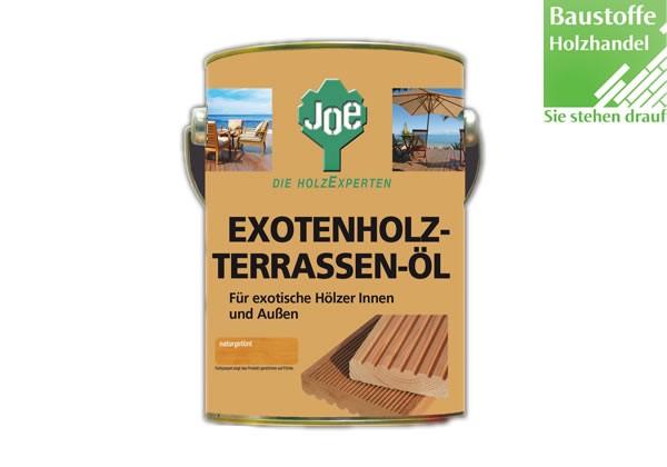 JOE Exotenhol Terrassenöl 2,5Liter