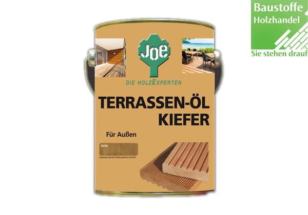 JOE Kiefer Natur Terrassenöl 2,5 Liter