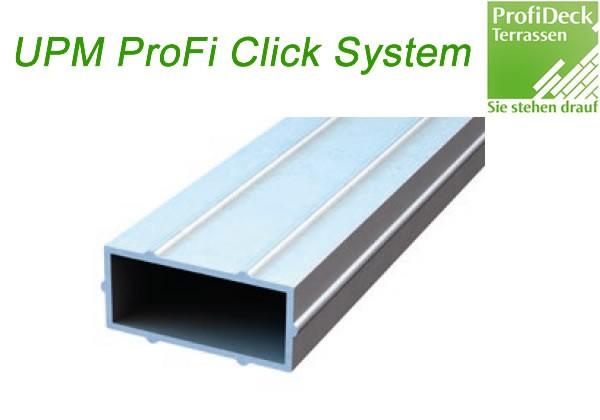 UPM ProFi Klick Längsverbinder für Support Rail Unterkonstruktion
