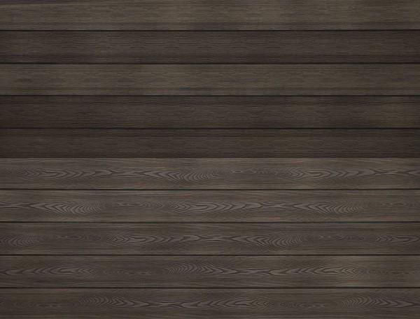 WPC massiv Terrassendiele 22 x 143mm Esche Holzstruktur / Gebürstet in 4 Längen