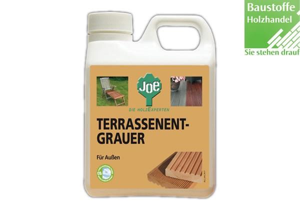 JOE Terrassenentgrauer und Reiniger für alle Naturholzarten 2,5Liter