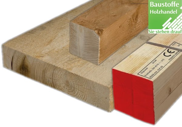 Bauschnittholz, Kantholz, Balken, Bohlen, Latten - Senden sie uns Ihre Anfragen