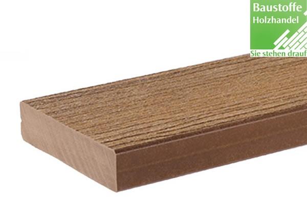 Timbertech WPC Massivdiele Cedar, Kollektion Docksider, 32x140mm ungenutet