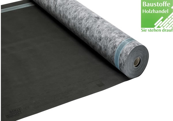 Fassadenbahn schwarz pro clima SOLITEX FRONTA PENTA 5.000 cm x 150 cm x 1,1 mm (75m²)