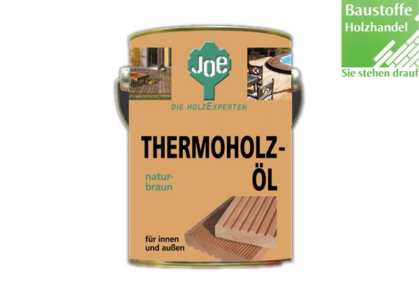 JOE Thermoholz Terrassenöl Naturgetönt 2,5Liter