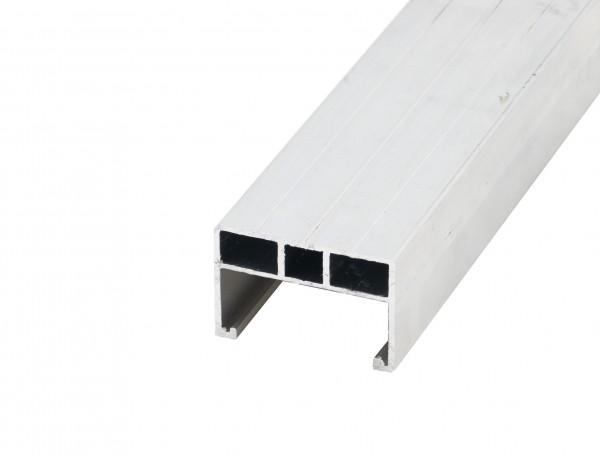 Atrox Aluminium Unterkonstruktion 38x58mm - 4m für Terrassenbau