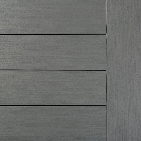 Timbertech WPC Massivdiele Maritim Gray, Kollektion Edge Premier, 24x136mm seitl. genutet / ungenute