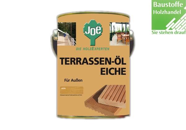 JOE Eiche Terrassenöl 2,5 Liter