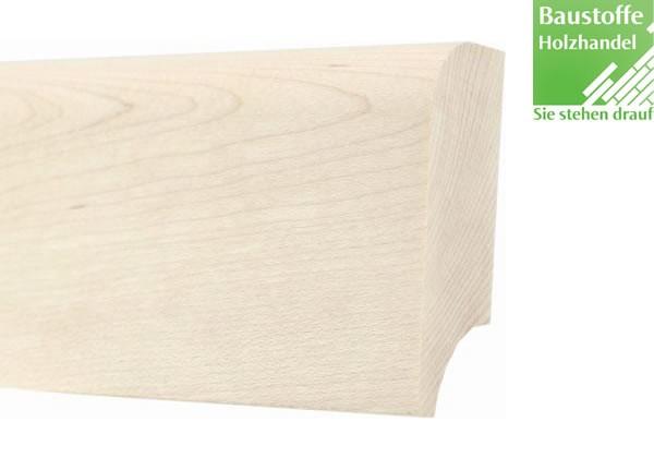 Sockelleiste Massivholz Ahorn (kanadisch) 20x60mm unbehandelt