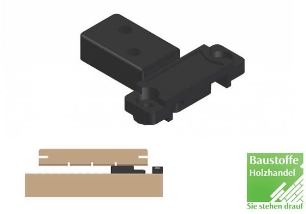 Kebony Start-Terrassenclip 10 Stück inkl. Schrauben 4,2x22mm