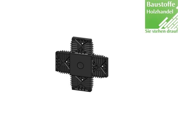 X-Verbinder für Unterkonstruktion 20x60mm in 2,0m VE = 25 Stück