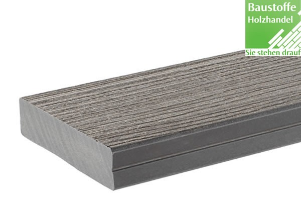 Timbertech WPC Massivdiele Gray, Kollektion Docksider, 32x140mm ungenutet