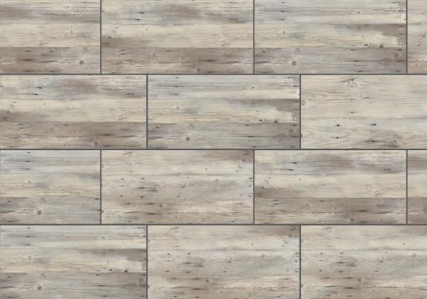 Keramische Terrassenplatte/fliese Altholz Grau 45x90x2cm