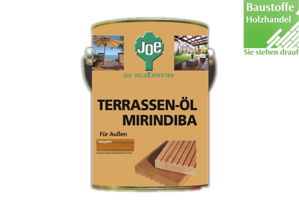 JOE Mirindibaöl in Natur, Dunkel und Hell 2,5Liter