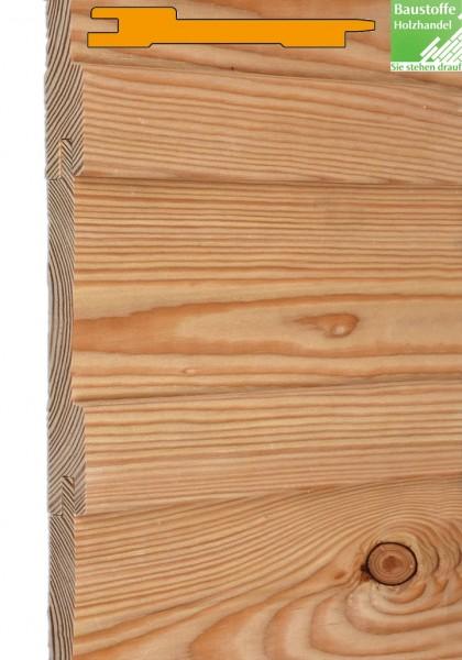 MOCOPINUS Fassade Boden Deckel Schalung gehobelt sibirische Lärche