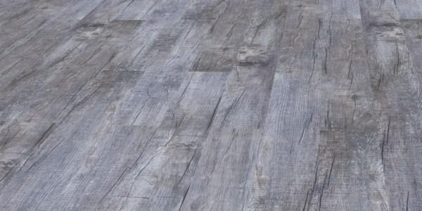 Klick-Vinyl Holz Rustikal Grau scharfkantig 5,0mm