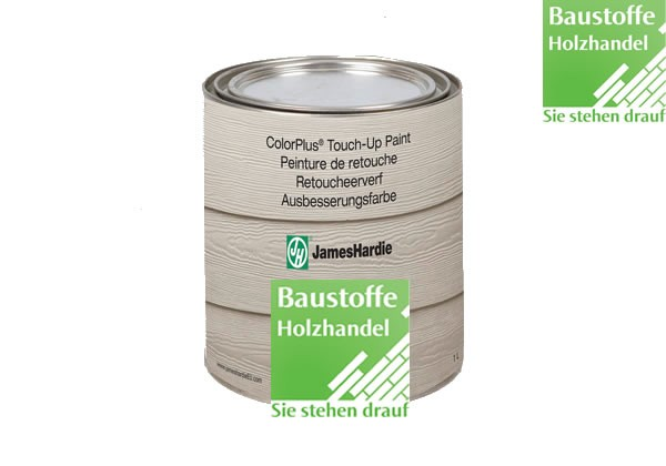 James Hardie ColorPlus ® Touch-up Paint Farbe zur Ausbesserung in 18 Farben - 1Liter Dosen