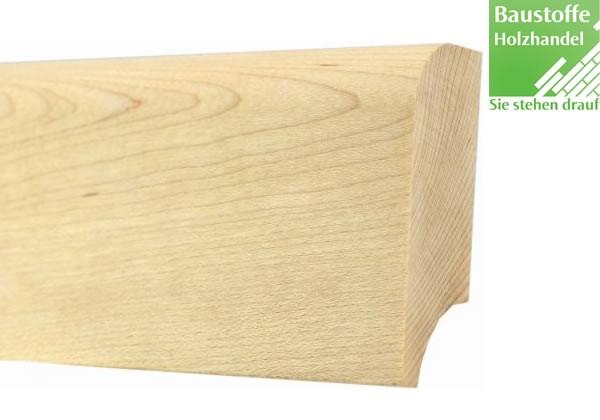 Sockelleiste Massivholz Esche 20x60mm unbehandelt