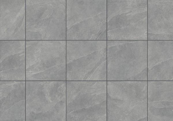 Keramische Terrassenplatte/fliese Schiefer Grau 60x60x2cm