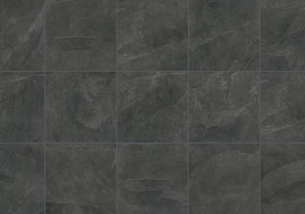 Keramische Terrassenplatte/fliese Schiefer Anthrazit 60x60x2cm