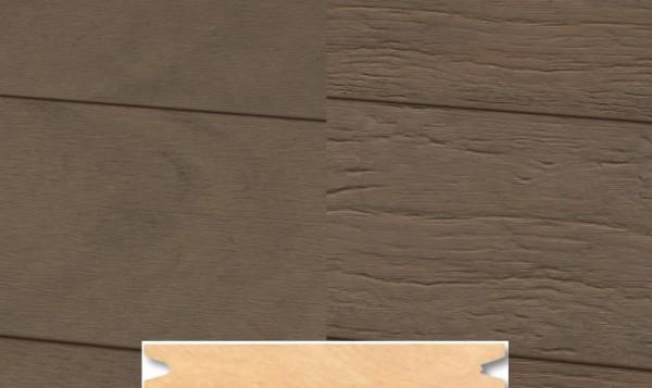 Massiv WPC Terrassendiele 22 x 143mm Sand gealtert / gebürstet in 4 Längen