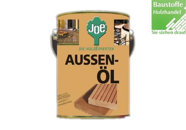 JOE Aussenöl in Eiche-Olive, Lärche, Natur, Opalweiß