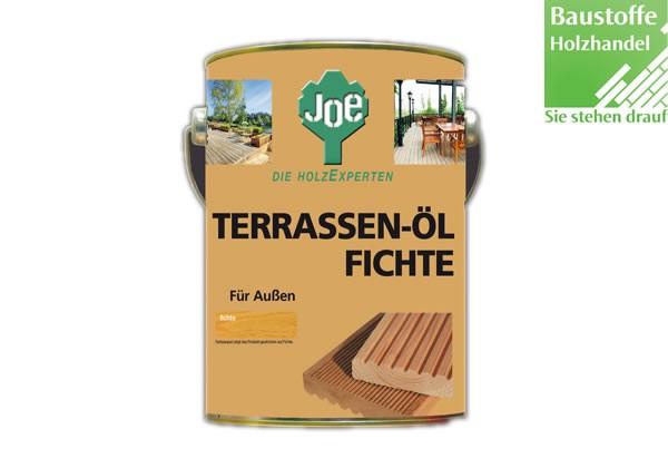 JOE Fichte Natur Terrassenöl 2,5 Liter