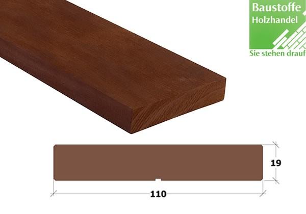 Kebony Clear Glattkant Fassadenbrett 19 x 110mm