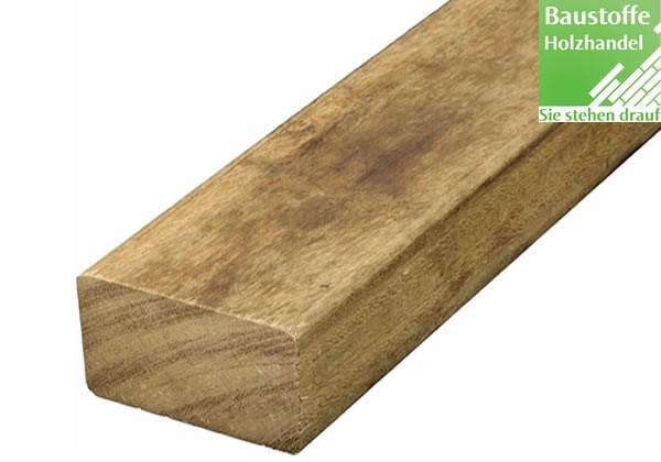 Angelim Pedra Holz Unterkonstruktion 45x70mm glatt oder geriffelt