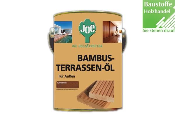 JOE Bambusöl in dunkel- und hellbraun 2,5Liter