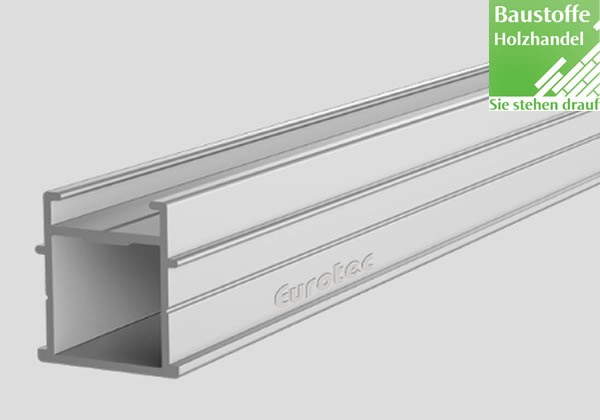 Aluminium Unterkonstruktion EVO Light 32x34mm von Eurotec in 4m