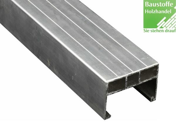 Aluminium Unterkonstruktion 40x60mm - 4m für Terrassenbau