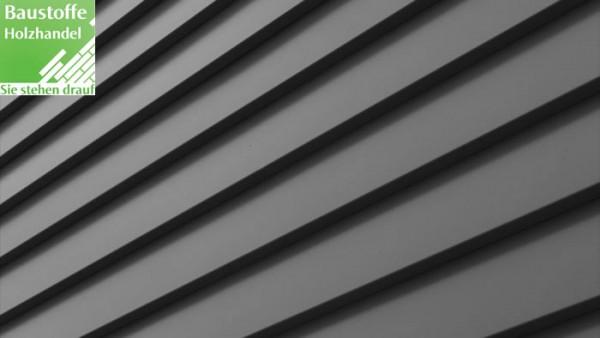 Stahlblech Fassade LP Klink Keilstülpschalung in zwei Farben