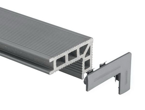 UPM ProFi Deck 150 Treppenprofil Endkappen in 6 Farben