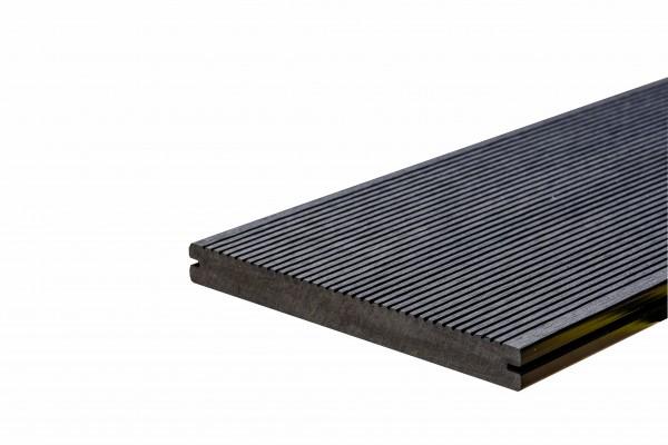 WPC BasicDeck Solid Wenge XL 19x190mm in glatt und geriffelt