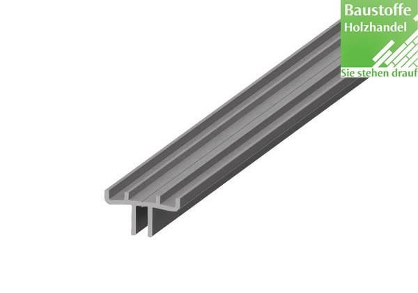 Alurail Aluminiumschiene für alle Lifecycle- und Vision Terrassendielen
