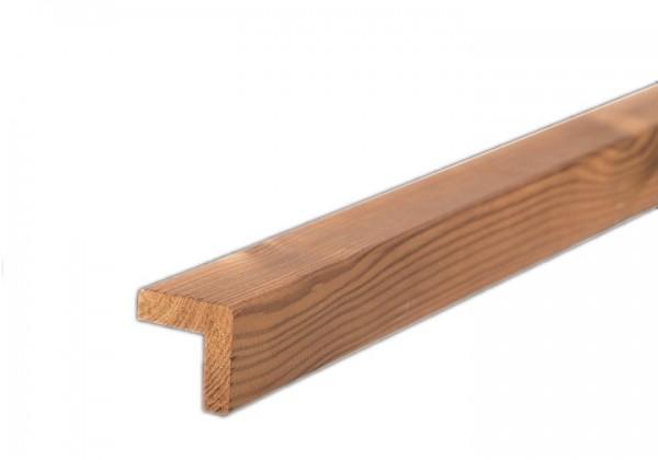 Lunawood Thermokiefer Winkelleiste Fassadenprofil 43 x 43mm, l=3,60m