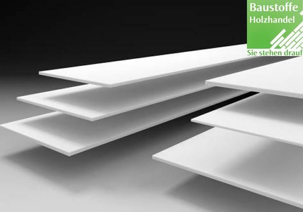 LG Hi-Macs Mineralwerkstoff Platten in 2 Formaten, 11 Farbgruppen und 103 Farben