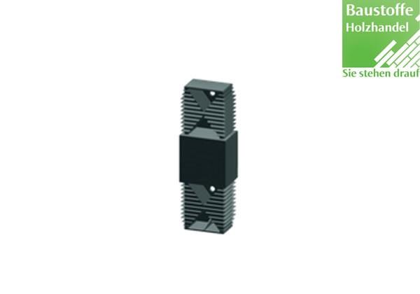 Längsverbinder für Unterkonstruktion 40x60mm in 2,0m VE = 25 Stück