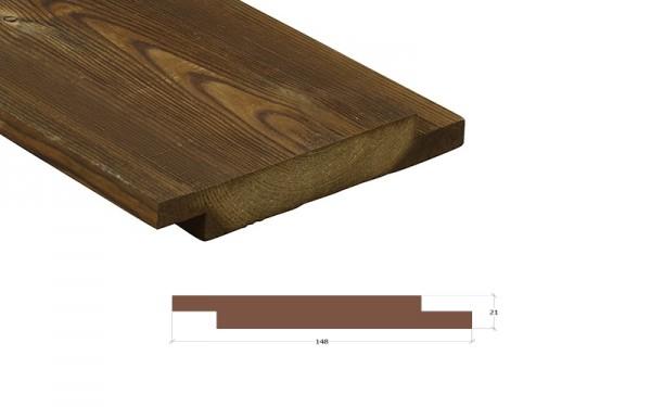 Kebony Character Wechselfalz 90° Fassadenbrett 21 x 148mm
