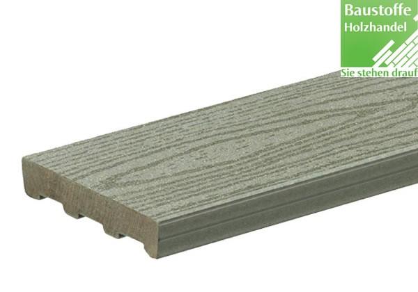 Timbertech WPC Massivdiele Gray, Kollektion Relia Board, 24x136mm ungenutet (auch mit Nut)