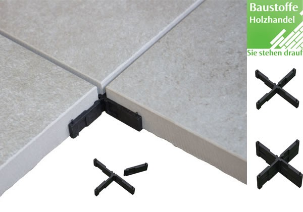 Fugenkreuze für Verlegung von Keramikplatten