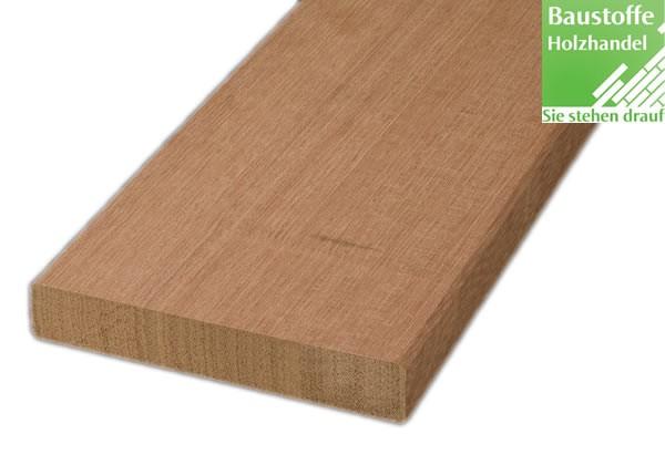 Bangkirai Terrassendiele 21x145mm vierseitig glatt gehobelt