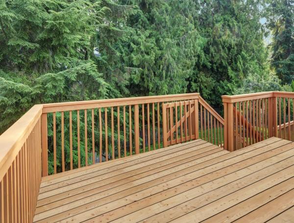 Terrassendiele Lärche sibirisch 28x142mm glatt, Qualtität A